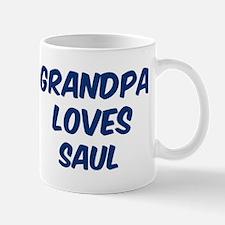 Grandpa loves Saul Mug