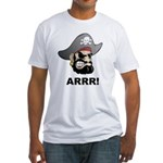 Arr Pirate Fitted T-Shirt