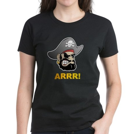 Arr Pirate Women's Dark T-Shirt