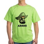 Arr Pirate Green T-Shirt