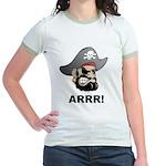 Arr Pirate Jr. Ringer T-Shirt