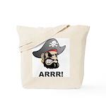 Arr Pirate Tote Bag