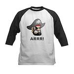 Arr Pirate Kids Baseball Jersey