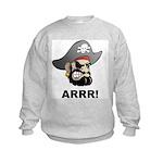 Arr Pirate Kids Sweatshirt