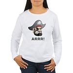 Arr Pirate Women's Long Sleeve T-Shirt