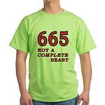665-beast Green T-Shirt