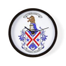 Coat of Arms Wall Clock