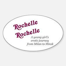 Rochelle Rochelle Oval Decal