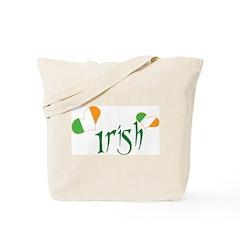 Heart Irish Tote Bag