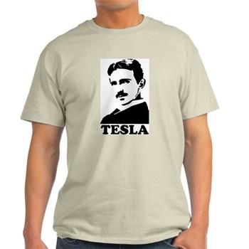 Tesla Light T-Shirt | Gifts For A Geek | Geek T-Shirts