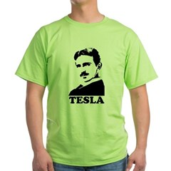 Tesla Green T-Shirt