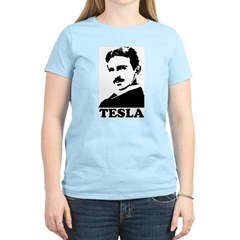 Tesla Women's Light T-Shirt