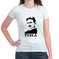 Tesla Jr. Ringer T-Shirt