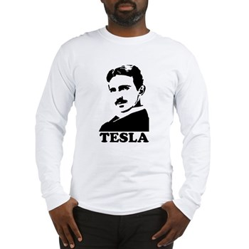 Tesla Long Sleeve T-Shirt | Gifts For A Geek | Geek T-Shirts