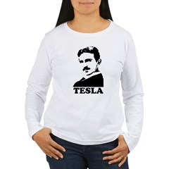 Tesla Women's Long Sleeve T-Shirt