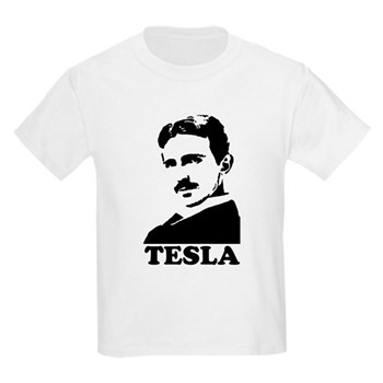 Tesla Kids Light T-Shirt | Gifts For A Geek | Geek T-Shirts