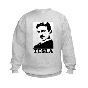 Tesla Kids Sweatshirt | Gifts For A Geek | Geek T-Shirts