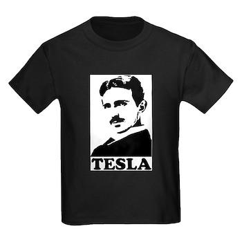 Tesla Kids Dark T-Shirt | Gifts For A Geek | Geek T-Shirts