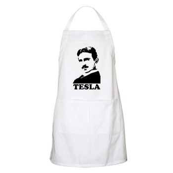 Tesla BBQ Apron | Gifts For A Geek | Geek T-Shirts