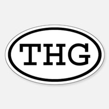 THG Oval Oval Decal