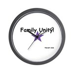 Family Unity! Wall Clock by MAMP Creations