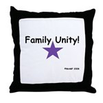 Family Unity! Throw Pillow by MAMP Creations