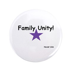 """Family Unity! 3.5"""" Button by MAMP Creations"""