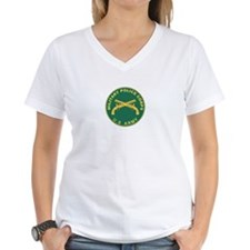 MILITARY-POLICE Womens V-Neck T-Shirt