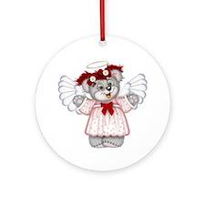 LITTLE ANGEL 3 Ornament (Round)