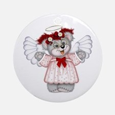 LITTLE ANGEL 3 Ornament (Round)