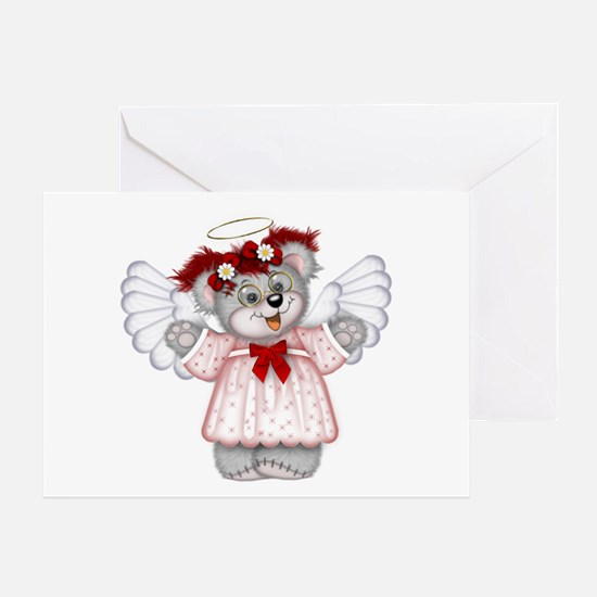 LITTLE ANGEL 3 Greeting Card