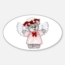 LITTLE ANGEL 3 Oval Decal