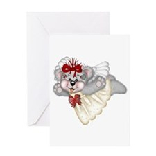 LITTLE ANGEL 4 Greeting Card