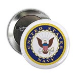 United States Navy Emblem Button