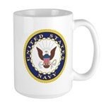 United States Navy Emblem Large Mug