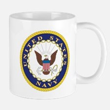 United States Navy Emblem Mug