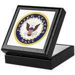 United States Navy Emblem Keepsake Box