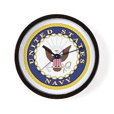 United States Navy Emblem Wall Clock