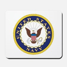 United States Navy Emblem Mousepad