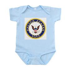 United States Navy Emblem Infant Creeper