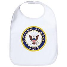 United States Navy Emblem Bib