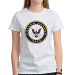 United States Navy Emblem (Front) Women's T-Shirt