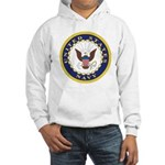 United States Navy Emblem (Front) Hooded Sweatshir