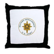 MILITARY-INTELLIGENCE Throw Pillow