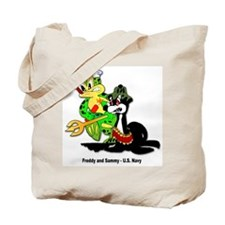 US Navy Freddy & Sammy Tote Bag
