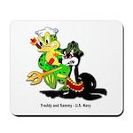 US Navy Freddy & Sammy Mousepad