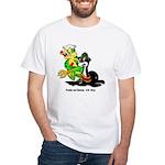 US Navy Freddy & Sammy White T-Shirt