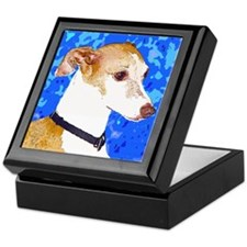 Italian Greyhound Keepsake Box