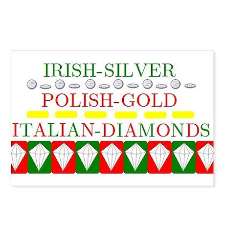 Italian Diamonds Postcards (Package of 8)