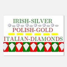 Italian Diamonds Postcards (Package of 8)